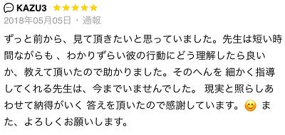 朝倉 ヒサシ先生の口コミ1