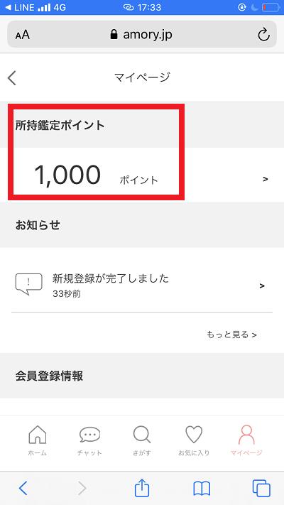 アモリー登録の様子10
